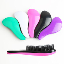 1 Pcs Fashion Salon Styling Tamer Tool Handle Tangle Detangling Knot Free Hair Brush Barber Hair Styling Tamer Combs