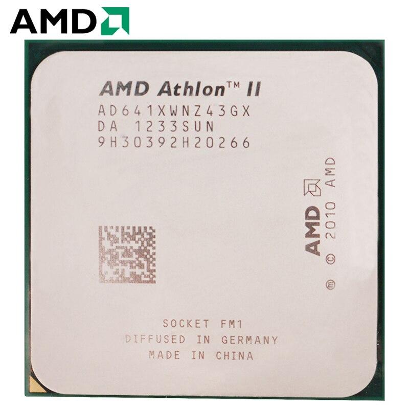 AMD Athlon II FM1 X4 641 Soquete 100W 2.8GHz 905-pin CPU Quad-Core Processador para Desktop x4 641 Soquete fm1