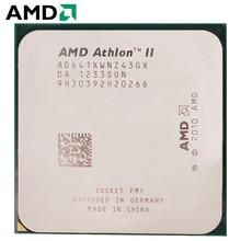 AMD Athlon II X4 641 гнездо FM1 100 Вт 2,8 ГГц 905-pin четырехъядерный процессор для настольных ПК X4 641 гнездо FM1