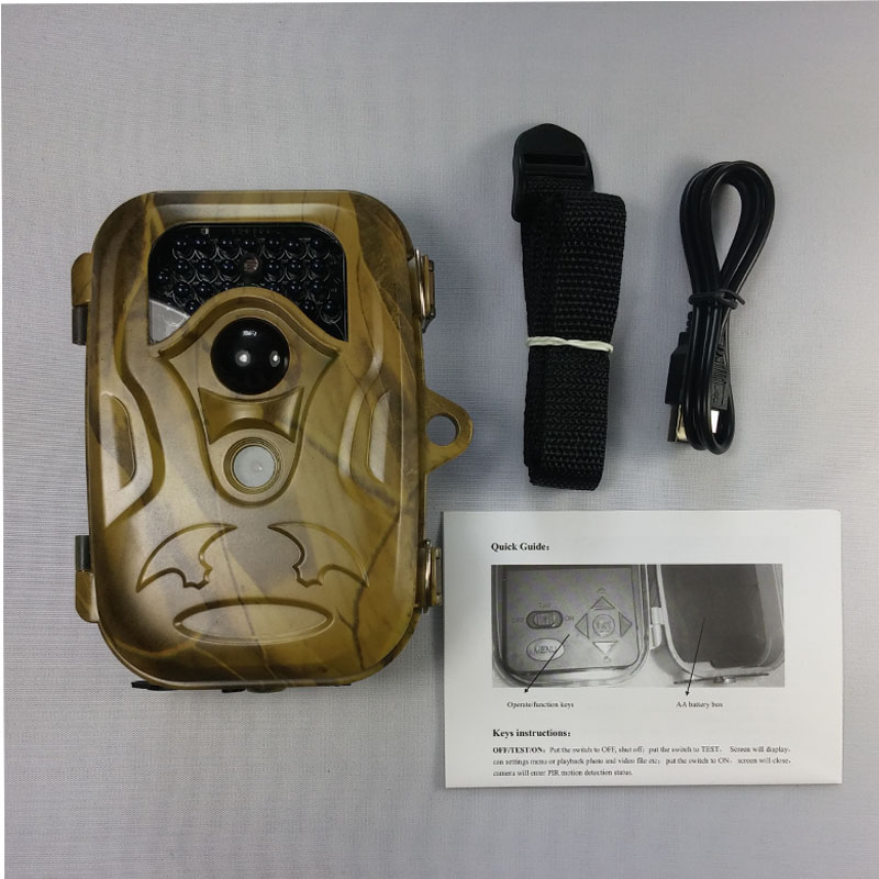12MP Digital Scouting Trail Camera 940NM Invisible Infrared Hunting Camera 2.4' LCD Hunter Cam 940nm trail hunting camera hc300 hd 1080p digital infrared scouting camera 2 0 lcd ir hunter cam
