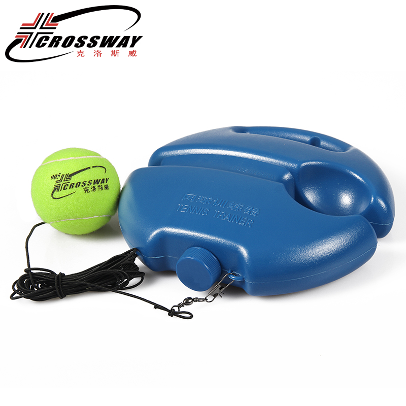 Heavy Duty tennis training devices Exercise Tennis Ball Sport Self-study Rebound Ball With Tennis Trainer Baseboard Sparring
