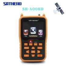 Sathero SH-400HD DVB-S2 спутниковый искатель HD метров MPEG-4 цифровой приемник спутникового ТВ 1080 P ТВ спутниковую искатель