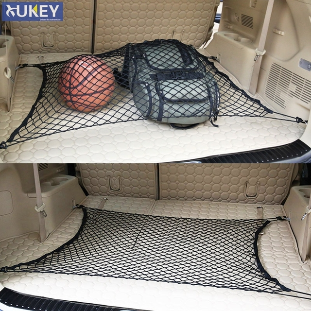 Luxury Rear Trunk Boot Floor Cargo Net Mesh Luggage Elastic Hook For Jeep Grand Cherokee 2011 New - Modern trunk luggage Trending