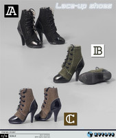 1:6 Scale ZY1007 High heels for 12 Male Action Figures