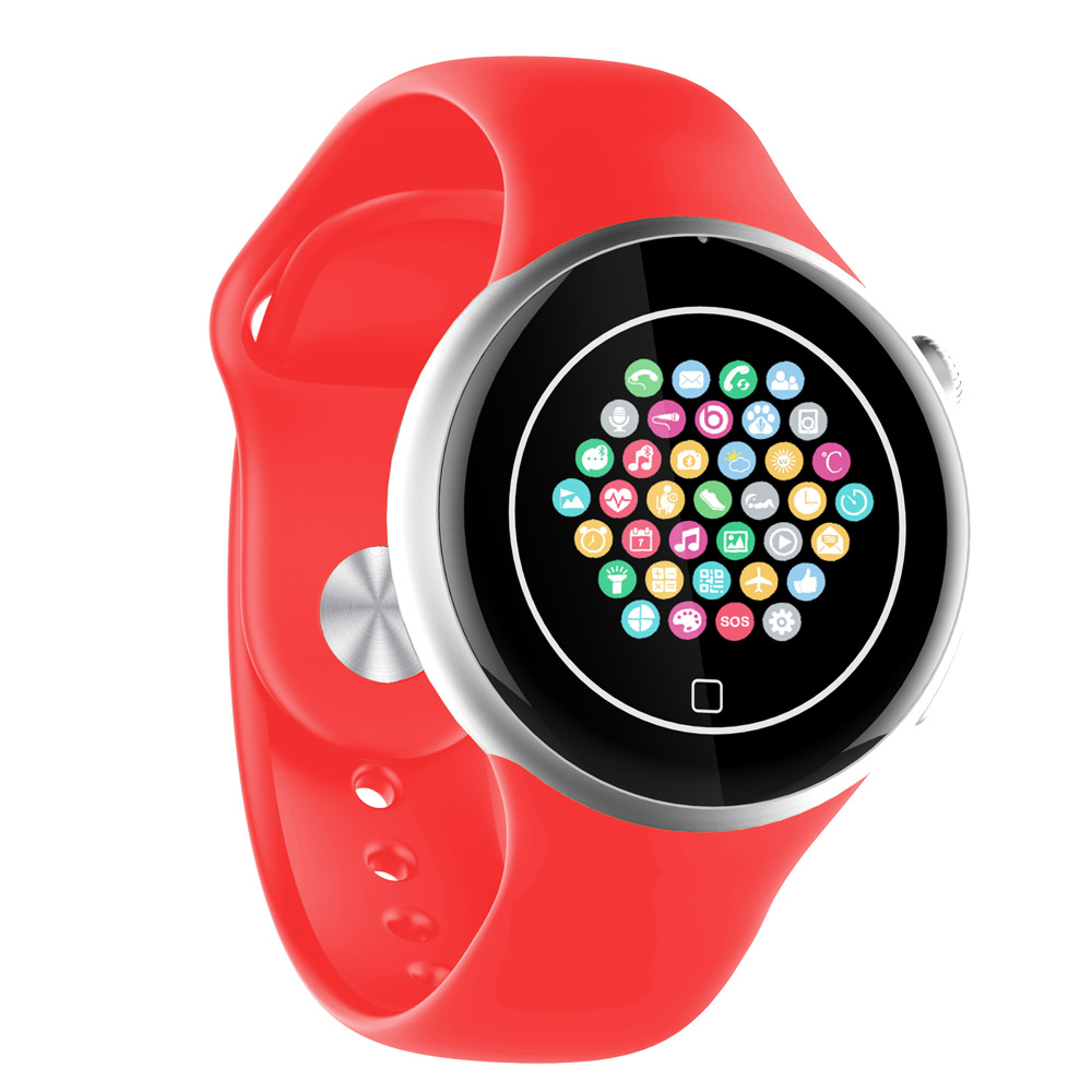 Heart Rate Smartwatch Wearable Devices With Bluetooth