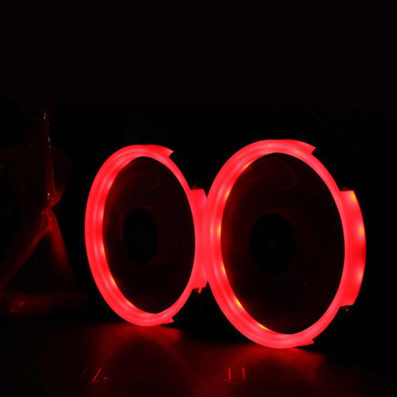 Array - 2018 hot sales computer eclipse 120mm led fan 120mm fan red blue green light guide ring  rh   aliexpress com