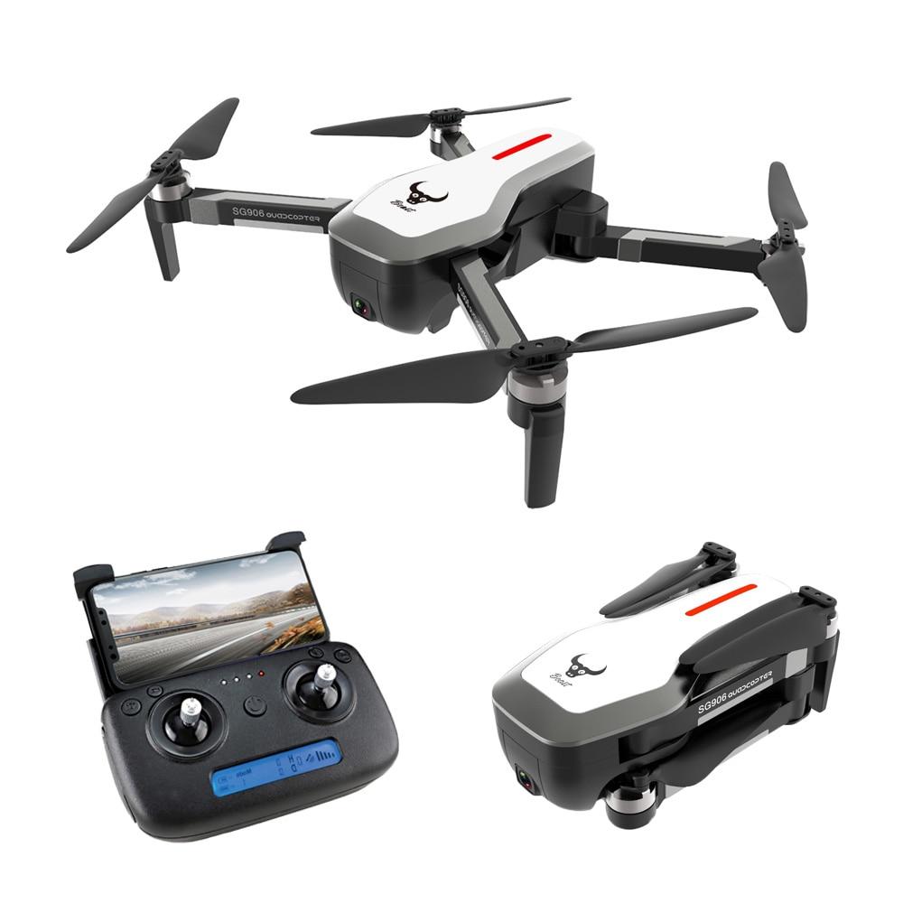 SG906 Mini drone GPS 5G WI-FI FPV RC Zangão Selfie 4 K Brushless Drones com Câmera HD RC Quadcopter dobrável Dron VS VISUO XS809HW