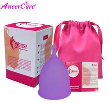 100% Medical Grade silikon Tasse copa menstruations Feminine hygiene reusable cup gute als menstruations pads Dame tasse Menstruation tasse