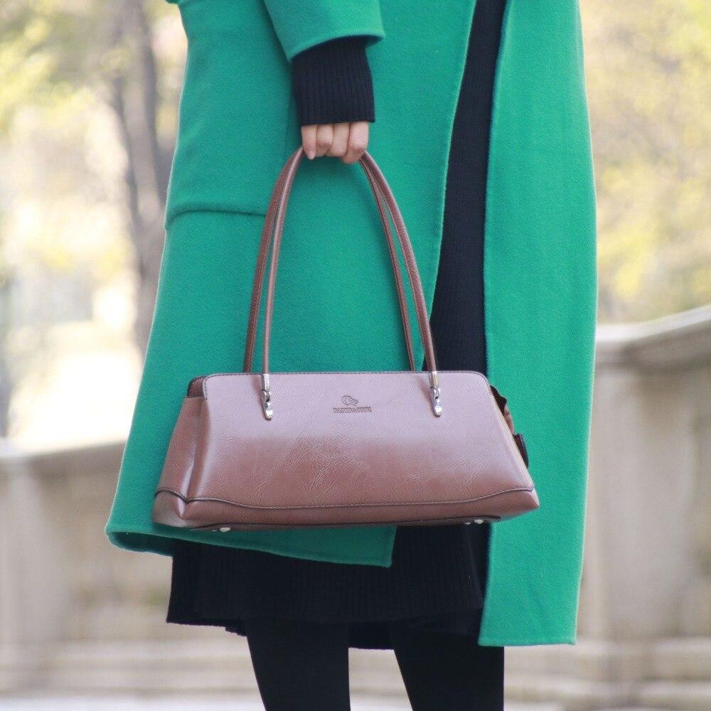 Elegant Fashion Leather Women Bag\Handbags Ladies' Shoulder Bag Designer Brand Retro Tote Bag Long Bag~Quality Guaranteed~17B7