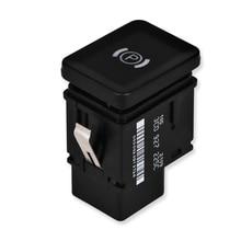 Auto Car Parking Brake Switch For Passat B6 Handbrake Button Switch Replacement For VW Passat B6 R36 C6 Cc 3C0927225C Black hand brake button auto holder esp engine start stop switch for vw passat b7 passat cc 3ad927137b 3ad 927 137 b