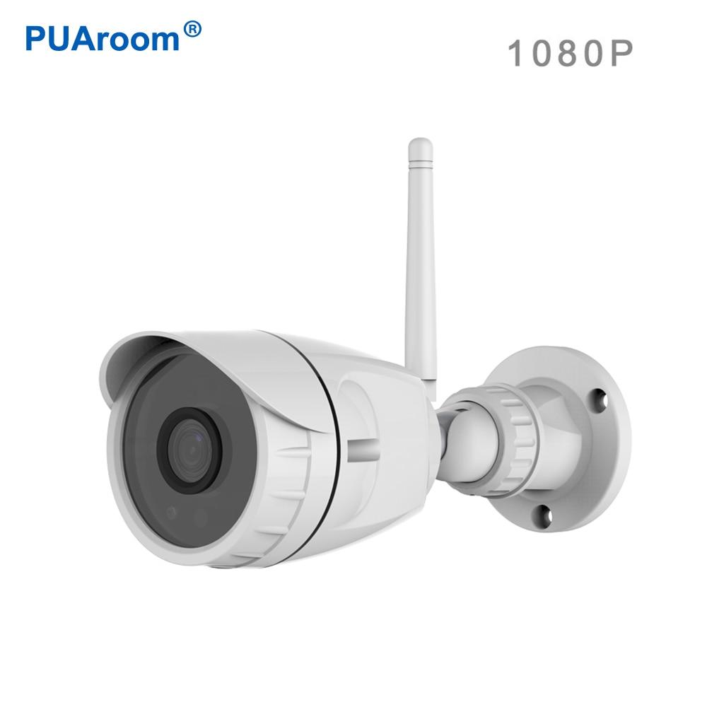 PUAroom IR-Cut CCTV Della Pallottola IP Camera Outdoor 1080 P Impermeabile IP66 Telecamera di Sorveglianza di Sicurezza WirelessPUAroom IR-Cut CCTV Della Pallottola IP Camera Outdoor 1080 P Impermeabile IP66 Telecamera di Sorveglianza di Sicurezza Wireless