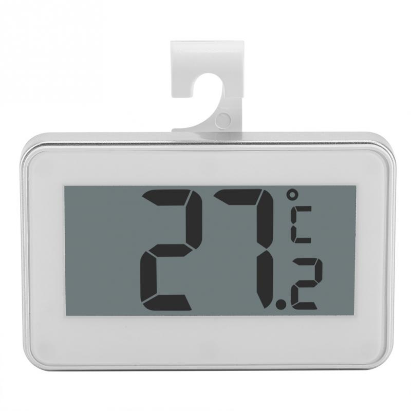 Kitchen Digital LCD Refrigerator Thermometer Fridge Freezer Temperature Meter with Adjustable Stand