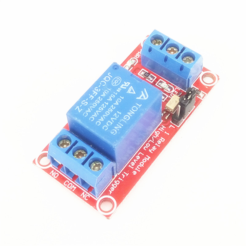 цена на 1 channel 12V Relay module ptocoupler isolation support high and low level trigger 1-channel relay expansion board For arduino