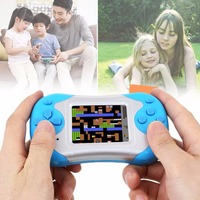 2 3 LCD Handheld Children Kids Built In Games Video Game Console Game Players Professional Handheld