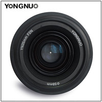 YONGNUO YN35mm F2 0 YN 35mm Wide Angle AF MF Fixed Focus Lens F Mount For