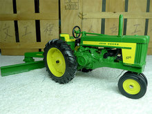 KNL HOBBY J Deere 720 tractor with a snow shovel full metal truck model Toys ERTL 1:16