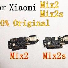 Для xiaomi Mix2 Mix2s usb-порт для зарядки Mix2 Mix2s плата зарядного устройства гибкий кабель для Mix2 MIX2s док-разъем Сменные соединительные детали