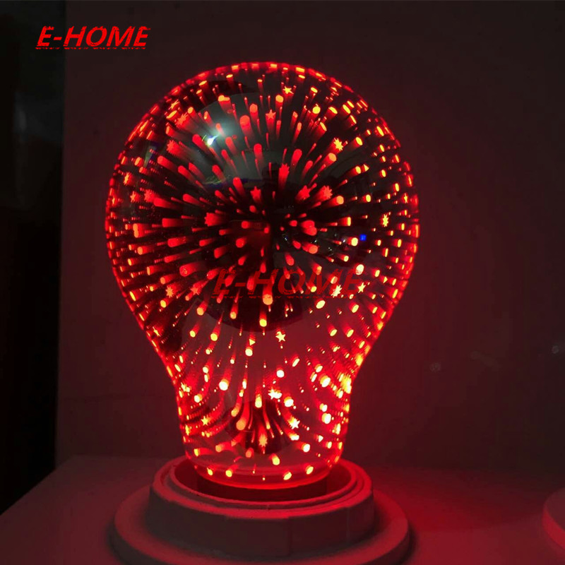 New Hot Sale Novelty Christmas Decor Edison 3D bulb bombillas led e27 For Home Lampada Holiday Lights 220V pair of vintage floral hollow out leaf drop earrings for women