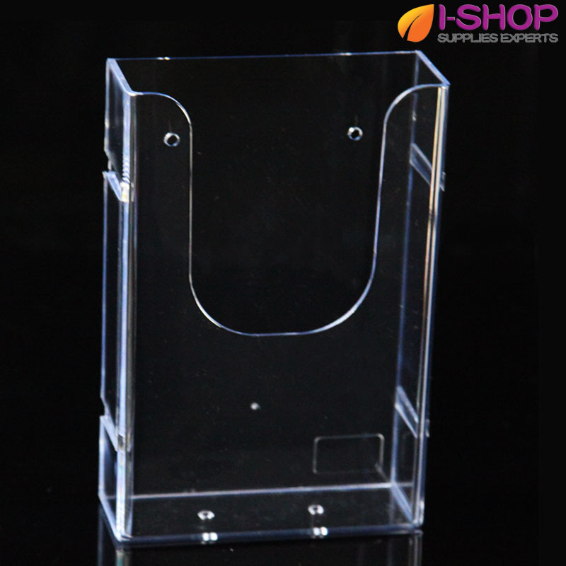 Popular acrylic brochure holder buy cheap acrylic brochure for Plastic flyer stand