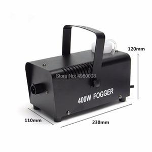 Image 4 - 400 ワットの煙機/リモートワイヤレス制御噴霧器エジェクタ/djクリスマスパーティーステージ霧機/400 ワットミニ煙エジェクタ噴霧器