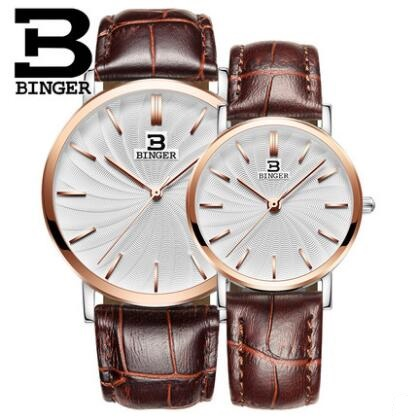 Geneva Binger Women Watches  Brand Luxury Fashion Quartz Watch Lover Clock Rose Gold Dress Casual Watch girl relogio feminino 2016 luxury brand ladies quartz fashion new geneva watches women dress wristwatches rose gold bracelet watch free shipping