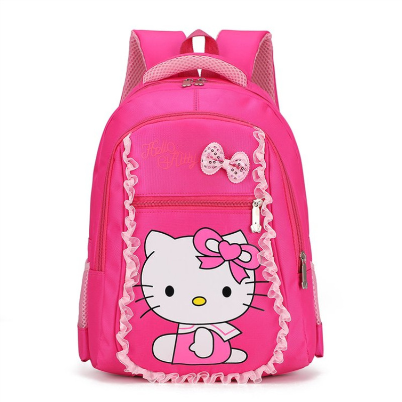 326ad860bc12 Корейский детский школьный ранец, рюкзак для девочек 1-3 класса, милый  рюкзак hello