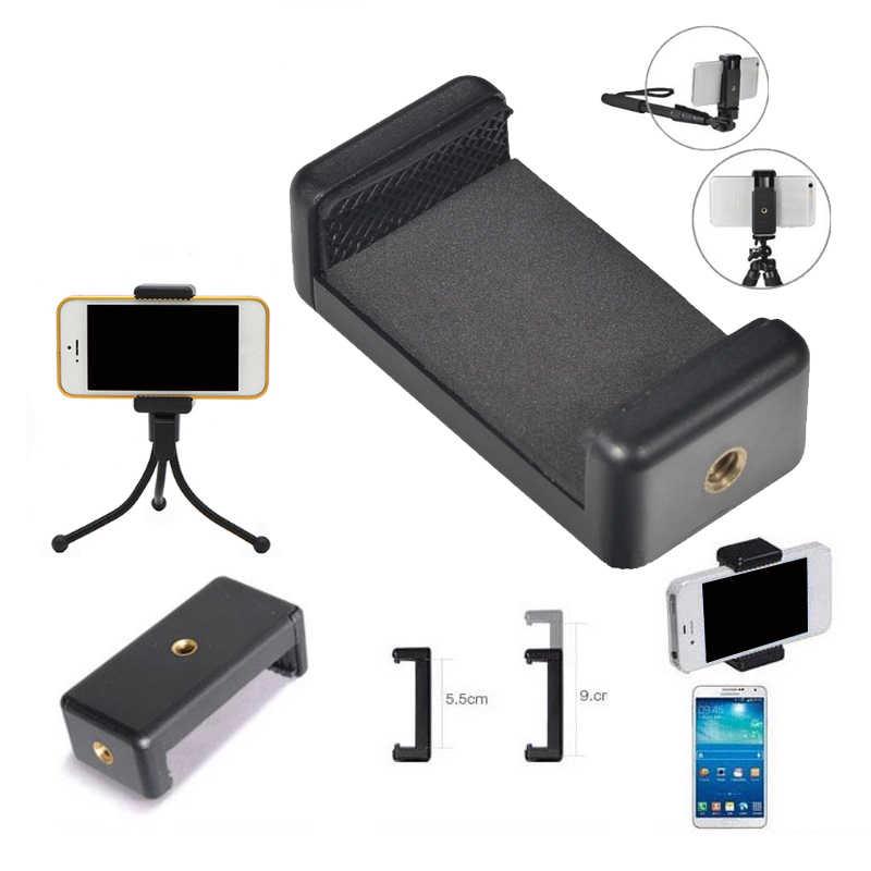 Зажим для мобильного телефона кронштейн держатель подставка поддержка выдвижной крепление Универсальный