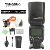 YONGNUO YN600EX RT II Вспышка Speedlite 2.4g беспроводное устройство HSS 1/8000 s мастер ttl Speedlight для Canon DSLR как 600EX RT yn600ex RT II
