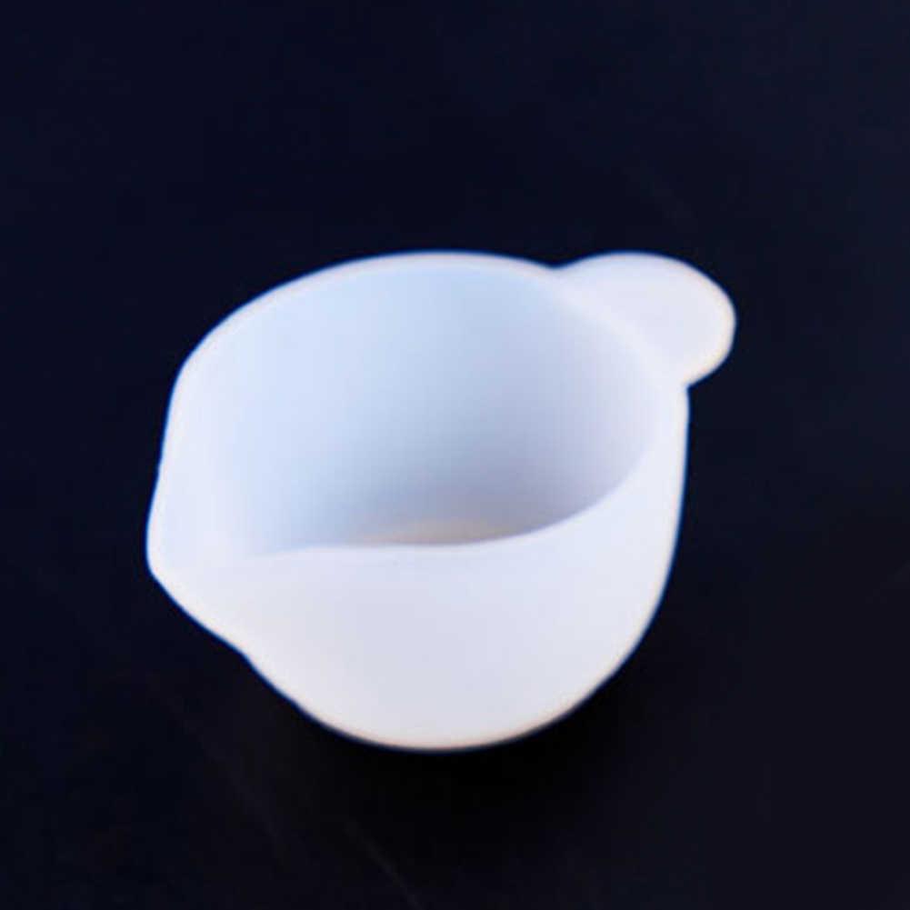ผสมถ้วย Handmade Easy Clean Reusable เครื่องมือแม่พิมพ์ซิลิโคนเรซินชุดอีพ็อกซี่ Sticks หัตถกรรมเครื่องประดับ DIY ทนทาน