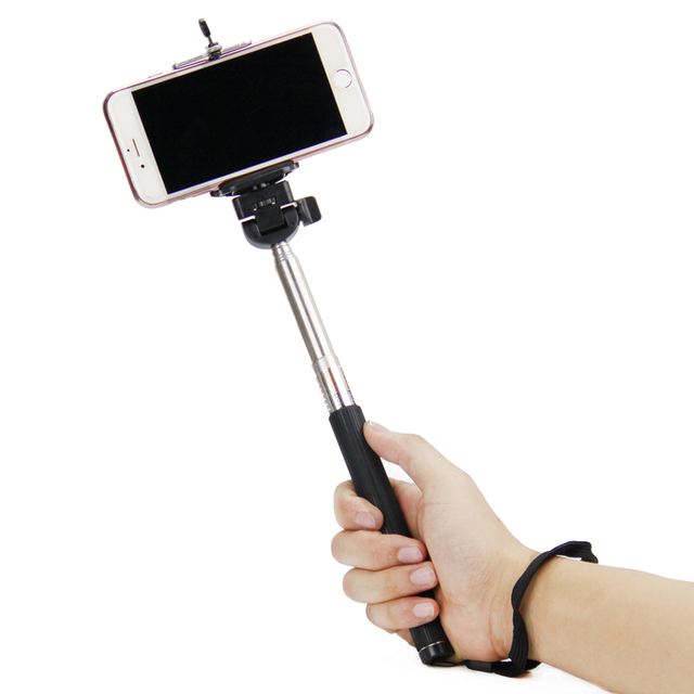 SnowHu ل هاتف محمول كليب حامل حامل جبل ل كاميرا Selfie Monopod ل Gopro اكسسوارات مع 1/4 المسمار القياسية LD04