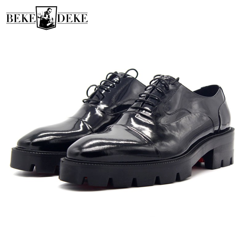 2018 NEW Oxford Shoes For Men Elegant Solid Black Mens Real Leather Formal Shoes Top Quality Office Dress Shoes Men Plus Size 47 цены онлайн