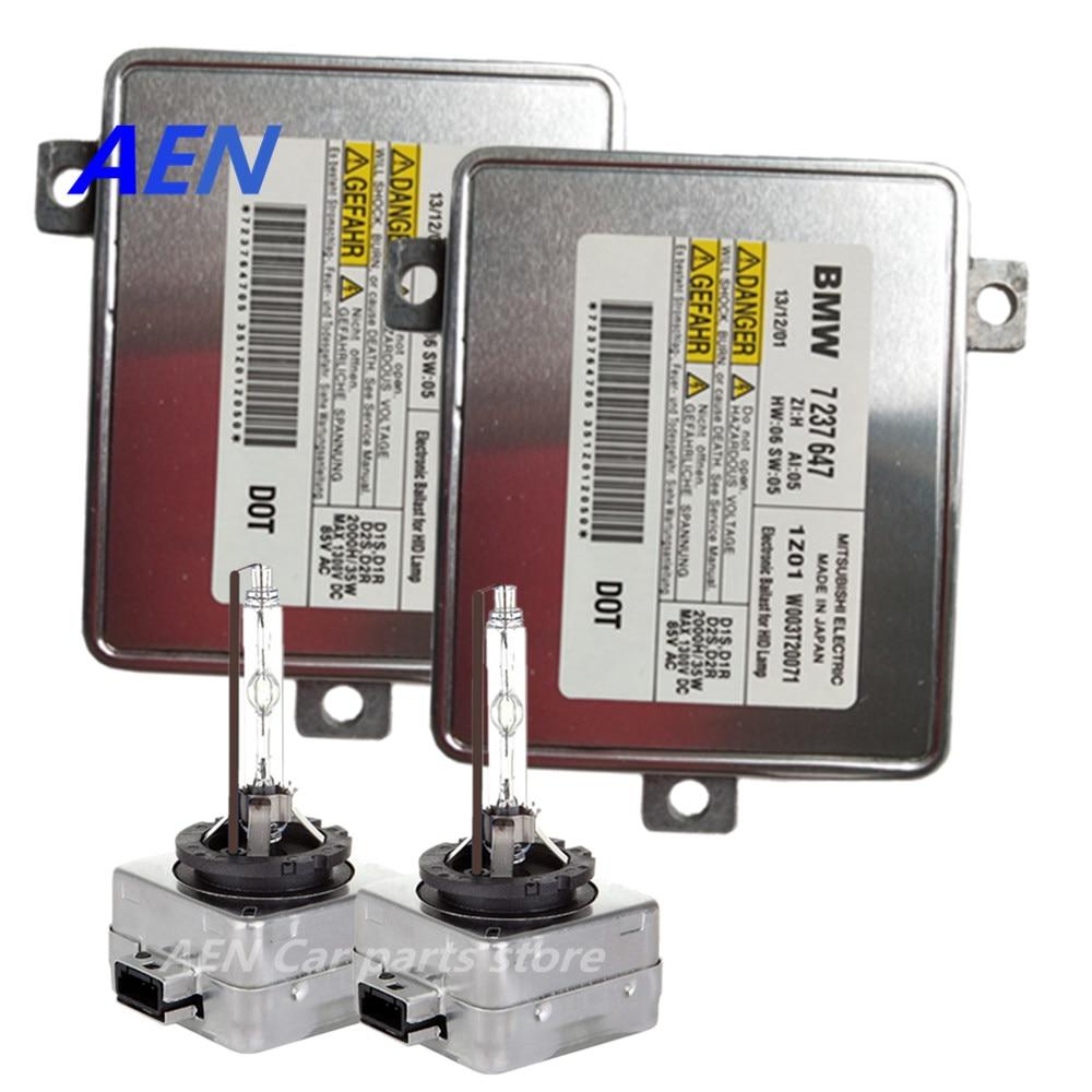 New D1S 35W Xenon Bulb HID Headlight Kit D1S Ballast 7237647 For BMW E90 E91 LCI F10 F11 F01 F07 E84 X1 E89 Z4 F25 W003T20071