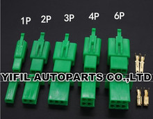 100sets/lot 2.8mm 1/2/3/4/6 pin Automotive Electrical wire Connector Male Female cable terminal plug Kits Motorcycle Ebike Car : motorcycle wiring connectors - yogabreezes.com