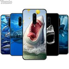 ocean Whale Sharks fish Silicone Phone Case for Oneplus 7 7 Pro 6 6T 5T Soft Cover Shell for Oneplus 7 7Pro Black Case
