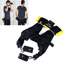 High Quality New Black Professional Rapid Camera Double Shoulder Sling Strap For SLR DSLR For Canon Nikon Sony Camera