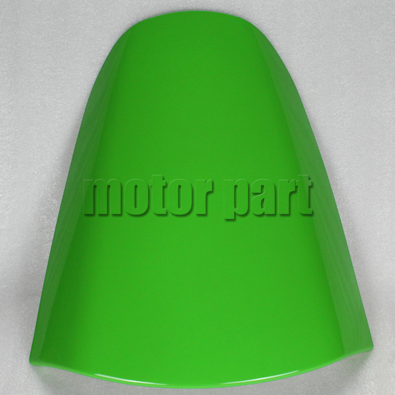 For 2000-2005 Kawasaki Ninja ZX12R ZX1200 ZX 12R Motorcycle Rear Passenger Seat Cover Cowl Green 01 02 03 04 05 for 2002 2005 kawasaki ninja zx9r zx 9r motorcycle rear passenger seat cover cowl black 01 02 03 04 05