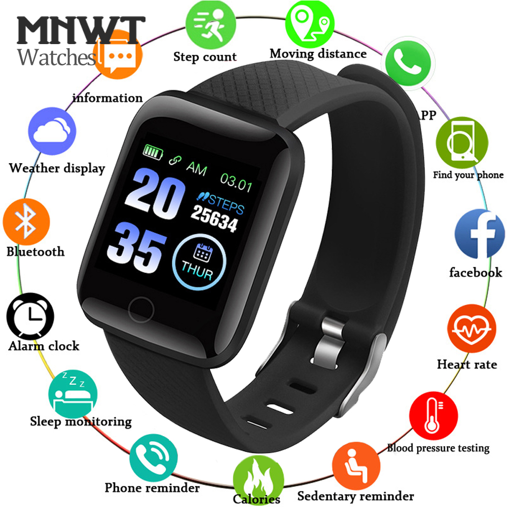 D13 Smart Watch Men Blood Pressure Heart Rate Monitor Waterproof Smartwatch Women Fitness Tracker Watch Sport For Android IOS