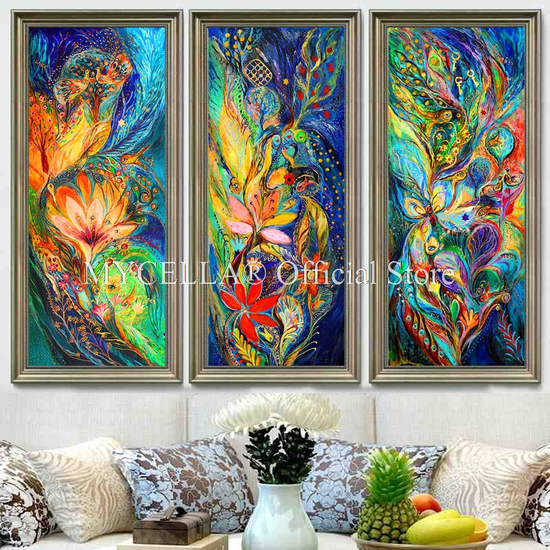 Phoenix Diamond Embroidery DIY Diamond Painting Peacock Flower Lovers Full Diamond Painting Cross Stitch Rhinestone Home Decor in Diamond Painting Cross Stitch from Home Garden