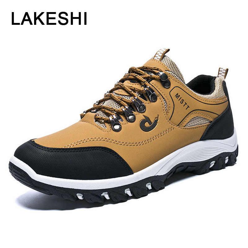 Yeni Spor Ayakkabı erkek ayakkabısı Kalın Tabanlı aşınmaya dayanıklı rahat ayakkabılar Marka Moda Ayakkabılar Açık yürüyüş ayakkabıları kaymaz Erkekler Sneakers