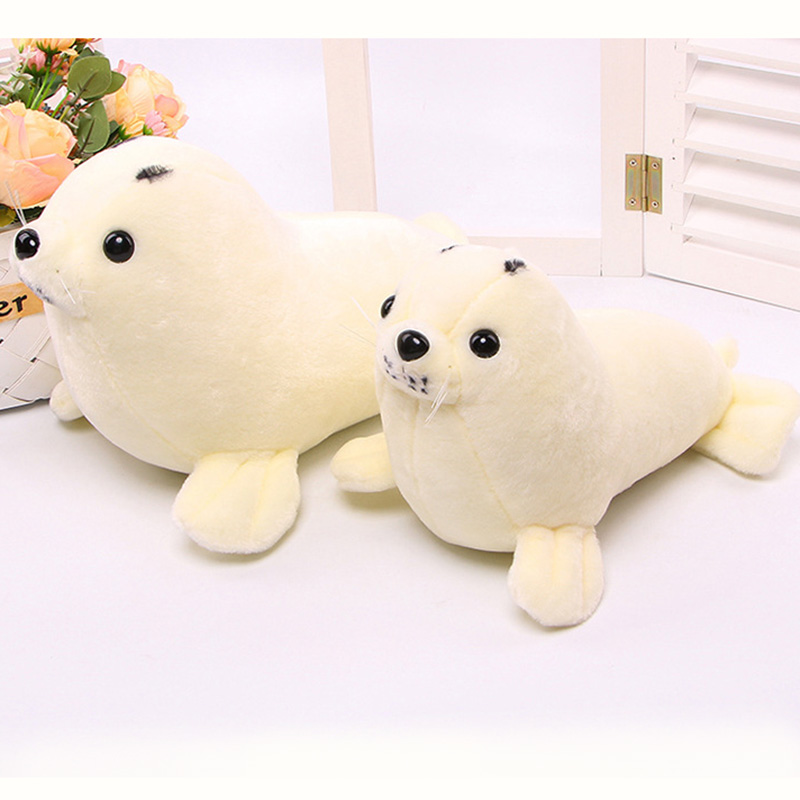 Sea lions Plush Toy 30/40cm Plush Dolls For Children High Quality Soft Cotton Baby Brinquedos Animals For Gift cute pikachu plush toy 20 25 35 45cm cute big eyes dolls for children toy high quality pp cotton brinquedos kids gift