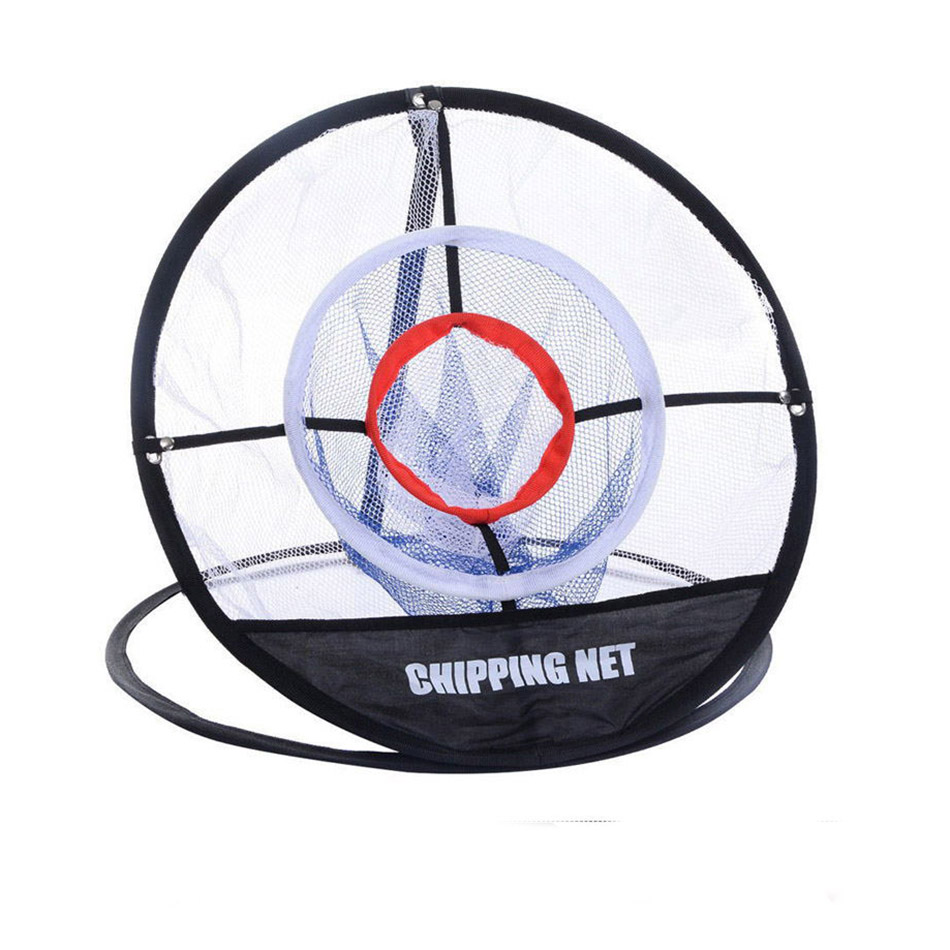GOLF Practice Net Cage Golf Training Net Portable Golf Chipping Net Golf Chipping Pitching Practice Net Exercise Mat Freeshippin