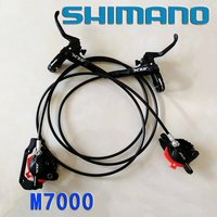 2017 Shimano SLX M7000 DISC BRAKE Deore Hydraulic Set W/ Ice Tech Pads Black Bike Bicycle Brake