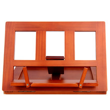Adjustable Angle Childern Student Tablet Table Foldable Office Lectern Home Book Stand Wooden Stationery Drawing Reading Bracket(China)