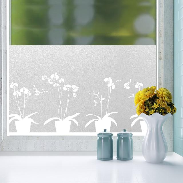 Fancy Fix Static Window Film Frosted Gl Sticker On Privacy Waterproof Bathroom