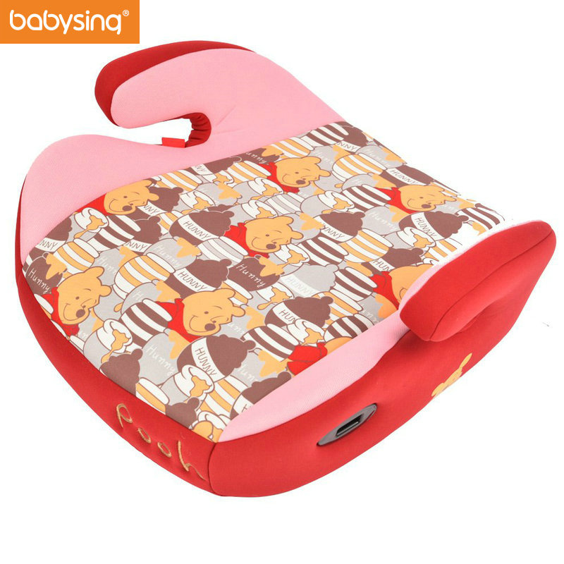 Babysing Baby Booster Car Seat Child Car Safety Seat Child Car Booster Cushion Kids Booster Car Seat Cushion with Cup Holder portable child baby toddler car seat covers travel baby booster baby car safety seat chair assento de carro sillas auto bebes