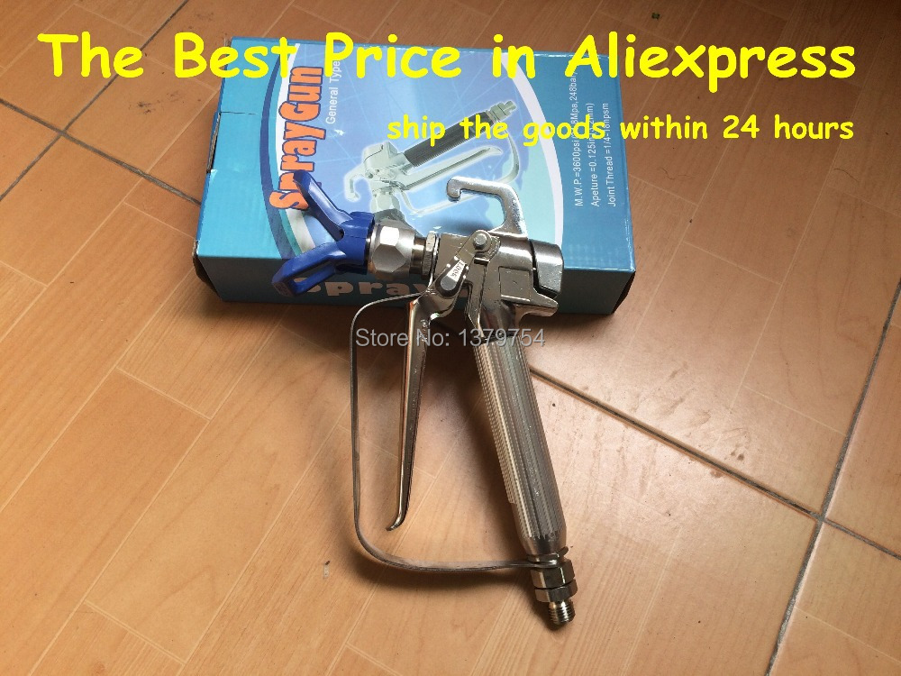 Airless paint sprayer gun,sprayer gun for all kinds of airless paint sprayer with the best price the price regulation of