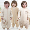Baby baby cotton thin cotton cotton sleeping bag sleeve detachable split air conditioning of children's products of organic co