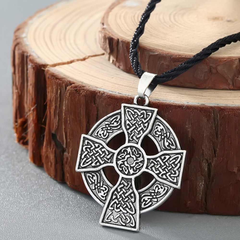Cxwind Vintage Viking Thor marteau collier pendentif Thor marteau pendentifs Compas corbeau noeud colliers bijoux pour femmes hommes cadeau