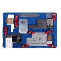 Eplosion-preuve De Refroidissement D'étain Multi-Plate-Forme fonctionnelle Pour iPhone X Carte Mère Fixation A11 Circuit Conseil PCB Titulaire Jig outil