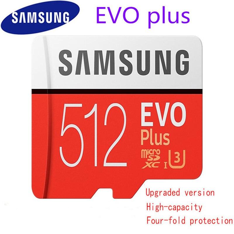 New 100% Original Samsung Micro Sd Memory Card 512gb Icrosd Cards Sdhc Sdxc Max 95mb/s Evo C10 Flash Drive Tf Card